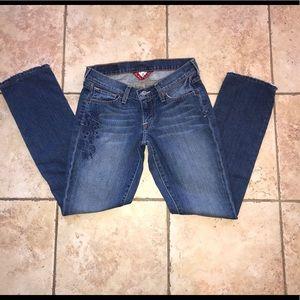 *RARE* Lucky Brand Zoe straight jeans